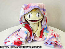 Pokemon - Ichiban Kuji - Pikachu and Modern Art Sylveon and Swirlix Pattern Blanket (Prize B) screen shot 2
