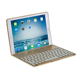 iPad Air 2 Clamshell Keyboard Case in Gold Tablet