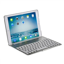 iPad Air Clamshell Keyboard Case in Silver Tablet