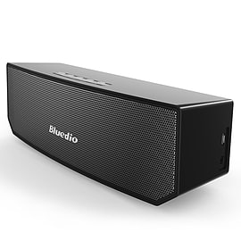 Bluedio BS-3 Portable Bluetooth Speaker - 3D Stereo Sound in Black Audio