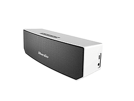 Bluedio BS-3 Portable Bluetooth Speaker - 3D Stereo Sound in White Audio