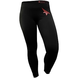 Mirrors Edge Leggings - Black/Red - Small S