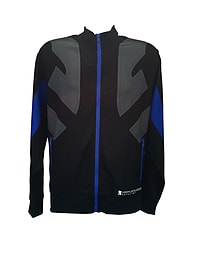 Mirrors Edge Male Jacket - Blue/Black - Small S