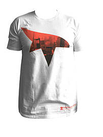 Mirrors Edge Symbol White T-shirt - Medium M