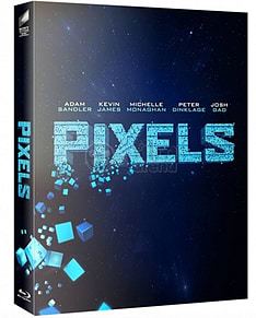 Pixels Blu ray Steelbook Numbered Fullslip Lenticular FilmArena NEW SEALED. Limited to ONLY 1500 num Blu-ray