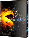 Pixels Blu ray Steelbook Numbered Fullslip Lenticular FilmArena NEW SEALED. Limited to ONLY 1500 num screen shot 2