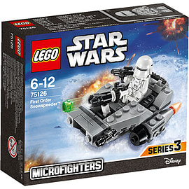 LEGO Star Wars First Order Snowspeeder Blocks and Bricks