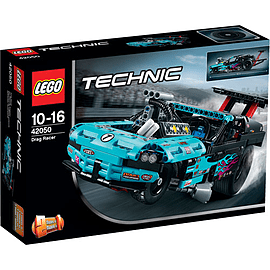 LEGO Technic Drag Racer Blocks and Bricks