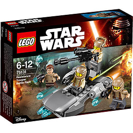 LEGO Star Wars Resistance Trooper Battle Pack 75131 Blocks and Bricks