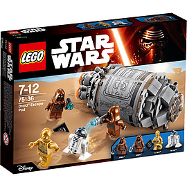 LEGO Star Wars Droid Escape Pod 75136 Blocks and Bricks