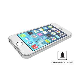 VitriFender Tempered Glass Screen Protector for iPhone 5 Mobile phones