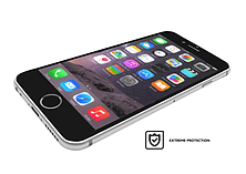 VitriFender Silicon Edge For iPhone 6/6S Clear screen shot 1