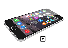 VitriFender Silicon Edge For iPhone 6/6S Clear screen shot 5