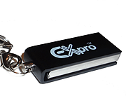 Ex-Pro® 8Gb DataRoto USB Metal Micro Pen Drive (with Keychain) for Samsung Acer screen shot 1