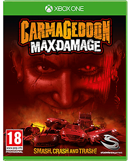 Carmageddon Max Damage Xbox One Cover Art