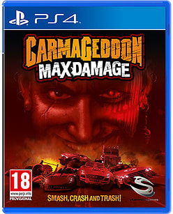 Carmageddon Max Damage PlayStation 4 Cover Art
