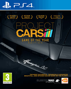 Project Cars Game of the Year Edition PlayStation 4 Cover Art