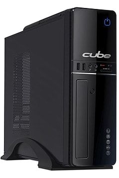 Cube Slim Pro Series Desktop PC with Microsoft Windows 10 Professional PC