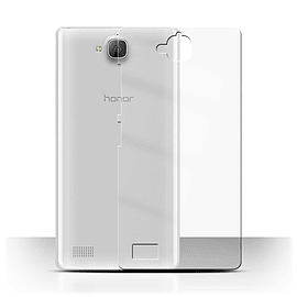 STUFF4 Clear Hard Back Phone Case for Huawei Honor 3C Mobile phones