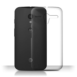 STUFF4 Clear Hard Back Phone Case for Motorola MOTO X Mobile phones