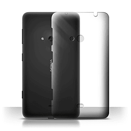 STUFF4 Clear Hard Back Phone Case for Nokia Lumia 625 Mobile phones