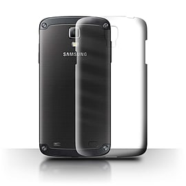 STUFF4 Clear Hard Back Phone Case for Samsung Galaxy S4 Active/I9295 Mobile phones