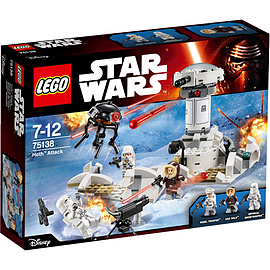 LEGO Star Wars Hoth Attack Blocks and Bricks