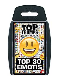 Top Trumps - Top 30 Emotis Card Game Traditional Games