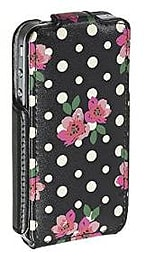 Accessorize fashion Flip case Cover for iPhone 4/4S - Polka Dot Mobile phones