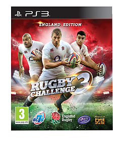 Rugby Challenge 3 PlayStation 3 Cover Art