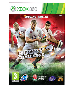 Rugby Challenge 3 Xbox 360 Cover Art