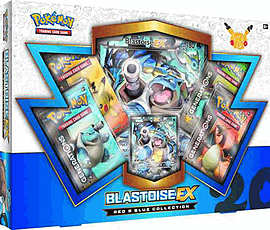 Pokemon TCG: Red & Blue Collection - Blastoise-EX Trading Cards