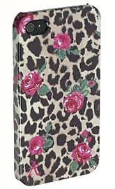 Accessorize Fashion Clip-On Hard Shell Case Cover for iPhone 4/4S - Leopard Print Mobile phones