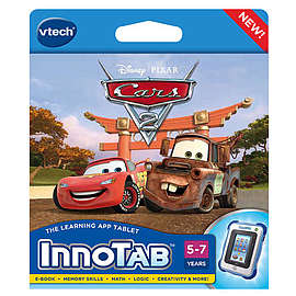 vTech InnoTab & Innotab 2 Game Cars 2 Tablet