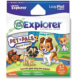 LeapPad & Leapster Explorer GS Pet Pals 2 Tablet