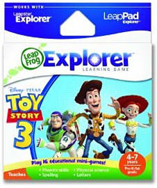 LeapPad & Leapster Explorer GS Toy Story 3 - Used Tablet