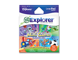 LeapPad & Leapster Explorer GS Mini Games Greatest Hits Tablet