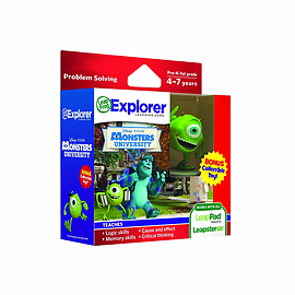 LeapPad & Leapster Explorer GS Pixar Monsters University + Toy Tablet
