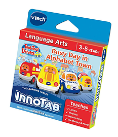 VTech InnoTab Software: Go! Go! Smart Wheels - Busy Day in Alphabet Town Tablet
