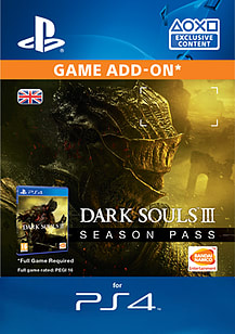 Dark Souls III - Season Pass PlayStation 4 Cover Art