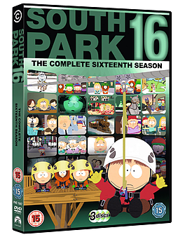 South Park: The Complete 16 Season (Re-Packaged) (DVD) DVD