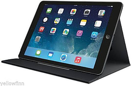 Logitech Apple iPad MINI 3/2/1 360 Rotating Turnaround Case Cover Stand Black Tablet