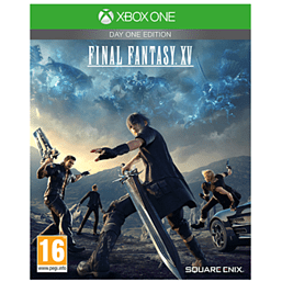 Final Fantasy XV Day One Edition XBOX ONE Cover Art