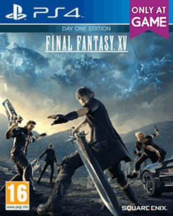 Final Fantasy XV Day One Edition - with Weapon and Travel Pack PS4 Cover Art