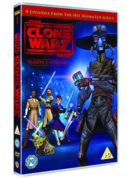 Star Wars: The Clone Wars - Season 2: Volume 1 (DVD) DVD
