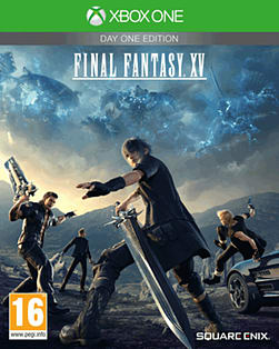 Final Fantasy XV Day One Edition - with Weapon and Travel Pack XBOX ONE Cover Art