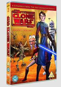 Star Wars: The Clone Wars - Season 2 Volume 2 (DVD) DVD