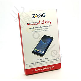 Zagg InvisibleShield HD Dry Front Screen Protector for Samsung Galaxy S7 Mobile phones