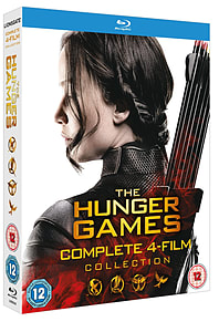 The Hunger Games Complete Collection (Blu Ray) Blu-ray