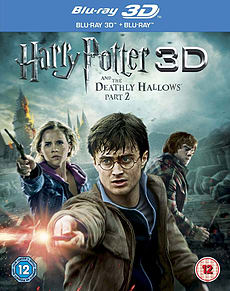 Harry Potter And The Deathly Hallows Part 2 (Blu-ray 3D + Blu-ray]) (C-12) Blu-ray